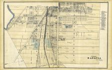 Batavia - Village 002, Genesee County 1876